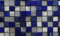 BLUE AND WHITE MOSAIC-1